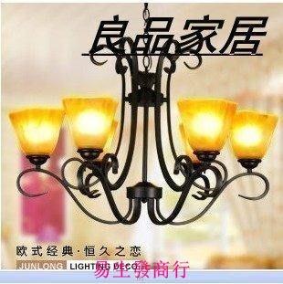 【易生發商行】歐式客廳燈 地中海吊燈 高端客廳燈飾 D6002奢華必備F6414