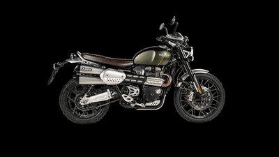 【鐵人館】Triumph Scrambler 1200 排氣管 Akrapovic