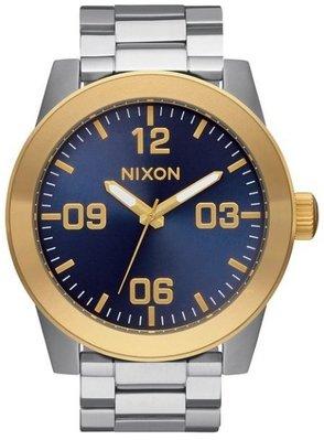 士林手錶專家-NIXON THE CORPORAL SS 曠野風潮腕錶 A346-1922