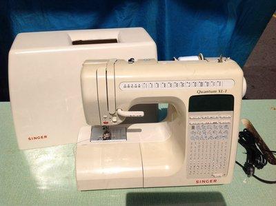 家庭用縫紉機二手勝家SINGER電腦 Quatvm XL-1型 , 拼布 、學生、家用兩皆宜~保固半年
