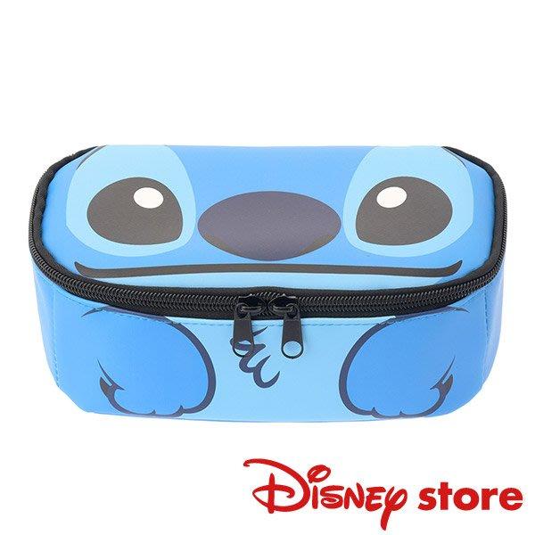 41+現貨不必等 挑戰Y拍最低價 日本限定 Disney 迪士尼商店 史迪奇 化妝包 筆袋 收納包  小日尼三