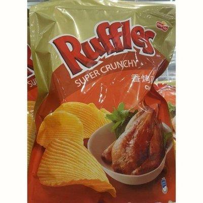 RUFFLES波樂 雞汁口味厚切洋芋片 580公克 #123855-吉兒好市多COSTCO代購
