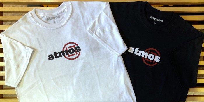 玉米潮流本舖 ATMOS x CLOT AT18SS009 限量 黑/白 雙色 短TEE 棉T 現貨