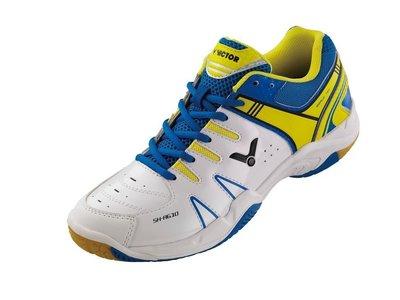 『弘揚體育』VICTOR 勝利 SH-A610AF (白/藍) 羽球鞋