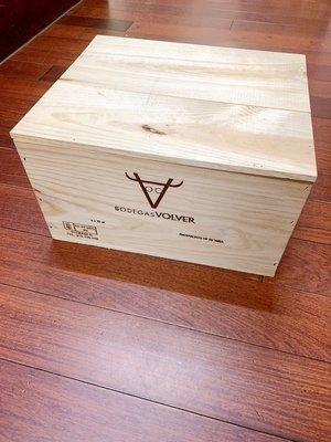 木箱/二手紅酒木箱/收納木箱/園藝木箱