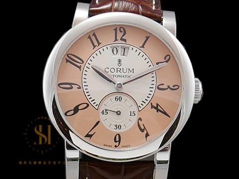 【鴻昇名錶】CORUM 崑崙 Classical Gran Date 922.201.20 台灣公司貨 AB7103
