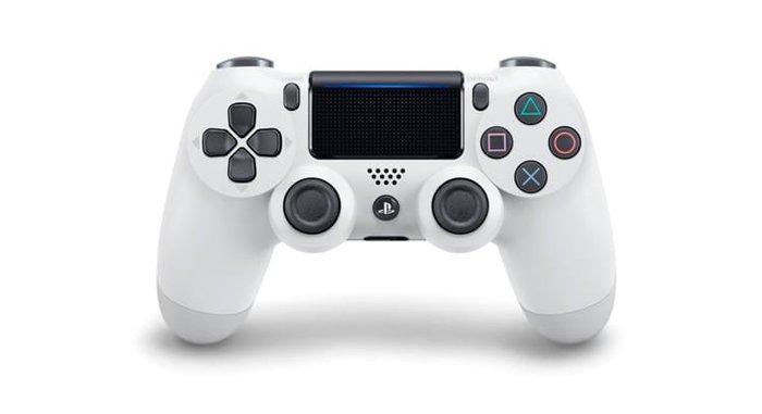 【勁多野】現貨供應 PS4 原廠無線控制器 冰河白 台灣公司貨 保固一年 送矽膠套1個
