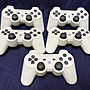 【Sony PlayStation 3 】無線手把*5 白色款 按鍵有問題需維修處理,故障品。