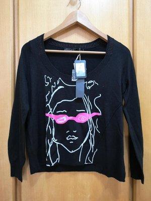 ☆Vi 宅☆ party girl 黑色針織衫