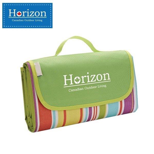 【魔法世界】加拿大 天際線 Horizon 多功能防潮沙灘野餐墊 加贈防水輕巧收納袋 180*145