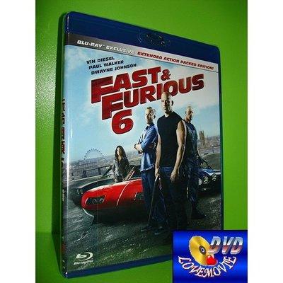 A區Blu-ray藍光台灣正版【玩命關頭6 Fast & Furious 6 (2013)】[含中文字幕] 全新未拆