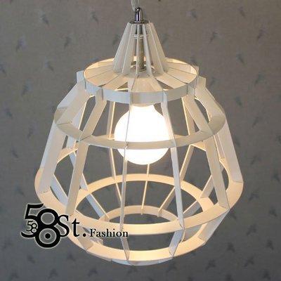 【58街-高雄館】「 Geometry Lamp 幾何吊燈、弔燈」簡約復古造型美術燈,複刻版,GH-256