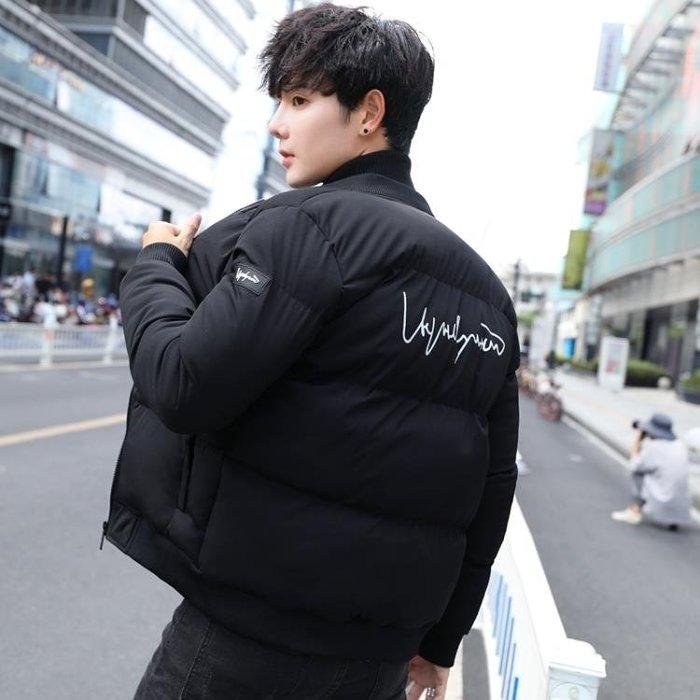 棉衣男士外套冬季2018新款加厚棉服韓版學生短款麵包服棉襖男冬裝