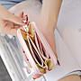 【帝芬妮精品】3件免運!女士皮革短夾皮夾 錢夾卡夾長夾零錢包小包包 手提包手拿包手機包化妝包 單肩包斜肩包斜背包60