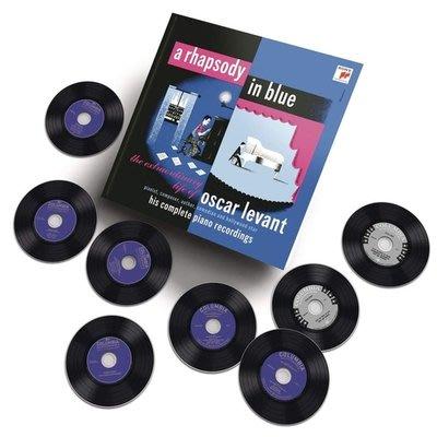 藍色狂想曲─雷文特不凡的一生  8CD  / 奧斯卡雷文特 Oscar Levant---88985471862