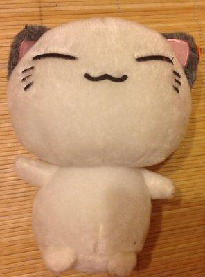 全新大頭白貓咪