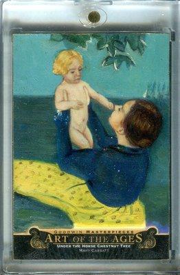 2015 UD Goodwin Art of Ages Mary Cassatt Under the Horse Chestnut Tree