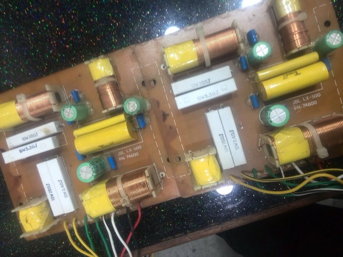 JBL 3音路原裝分音器  LX-500 LX-600 LX-440 LXE-330 LX-550 買一片送一片(已售出