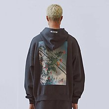 [DJS LIFESTYLE] FOG FEAR OF GOD ESSENTIALS PHOTO SERIES PULLOVER HOODIE (SIZE L)