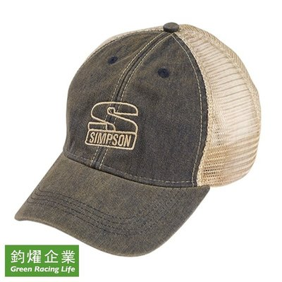 Simpson 賽車FIA Approved專業部品  品牌精品Low Pro Trucker Hat 棒球帽
