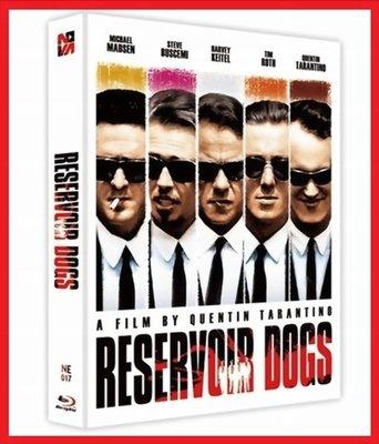 【BD藍光】霸道橫行:幻彩盒限量鐵盒版Reservoir Dogs(台灣繁中字幕)追殺比爾黑色追緝令導演