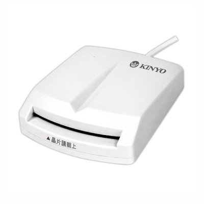 晶片讀卡機KCR-350 KINYO 網路匯款ATM【E0017】