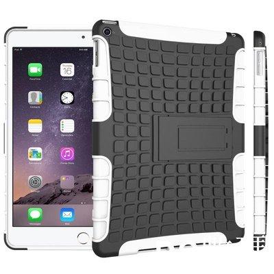 ❤❤ 輪胎紋支架 蘋果 iPad 6 / Air 2 手機殼 全包保護套 PC+TPU 矽膠套 防摔保護殼 平板套