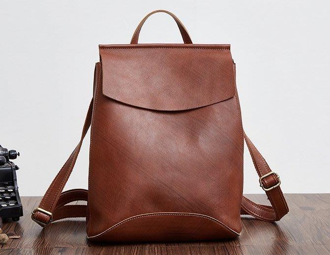 真皮後背包 後背包 免運費 真皮包包 手提包 雙肩包 書包 JY 8625L【FQ包包】