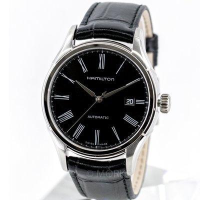 現貨 可自取 HAMILTON H39515734 漢米爾頓 手錶 機械錶 40mm 日期顯示 大三針 黑面盤 黑皮錶帶 男錶女錶