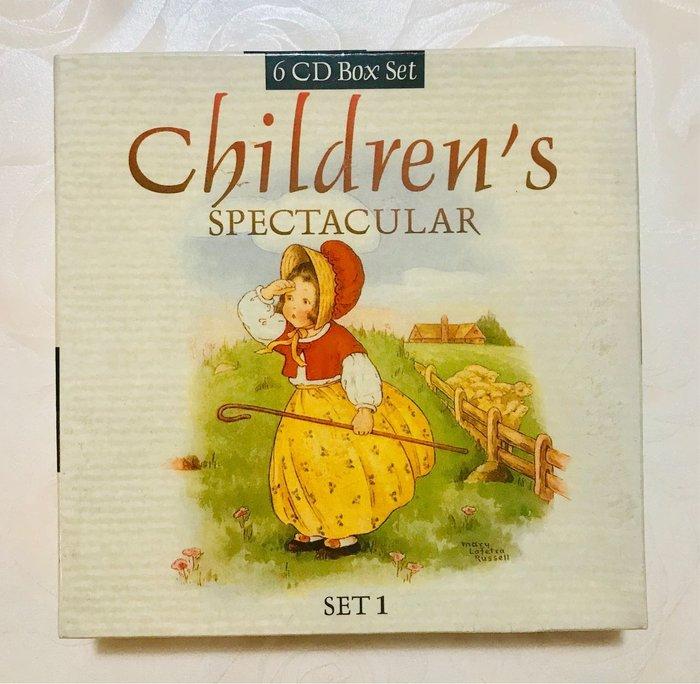 *【兒童英語童謠CD】小pen~來自英國最經典童謠故事~ 童謠, 故事,兒歌.6CD Box Set1