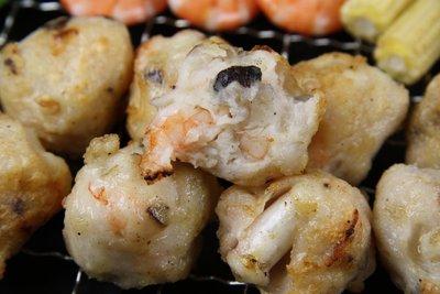 【中秋烤肉食材】來點不一樣的~烤花枝香菇蝦丸