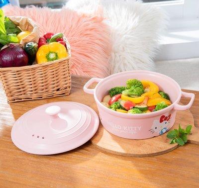 康是美 品質精選烹飪小陶鍋 容量 2000ml 陶瓷鍋  HELLO KITTY 45週年 COSMED