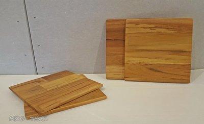 【美日晟柚木家具】XP 12 柚木滑鼠墊 隔熱墊 頂極柚木 原木傢俱15*15 柚木板