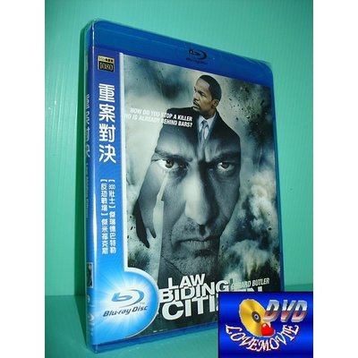 A區BD藍光台灣正版【重案對決Law Abiding Citizen(2009)】[含中文字幕]全新未拆《傑瑞德巴特勒》