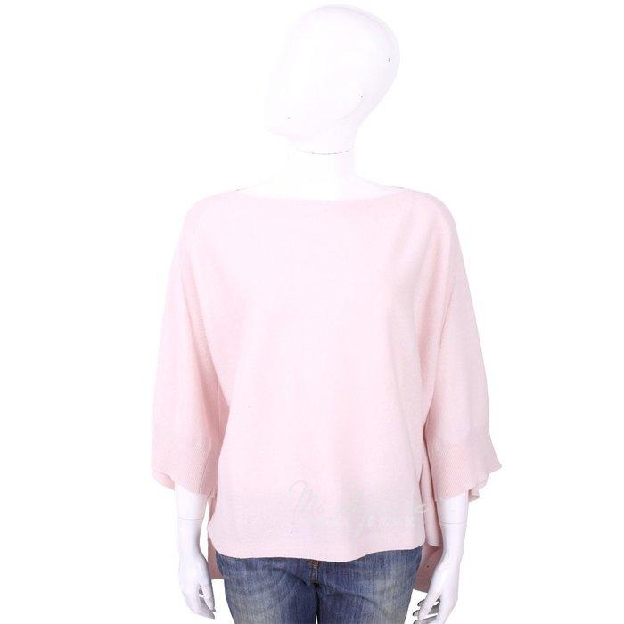 米蘭廣場 ALLUDE 喀什米爾淺粉色斗篷式針織羊毛衣 1740247-05