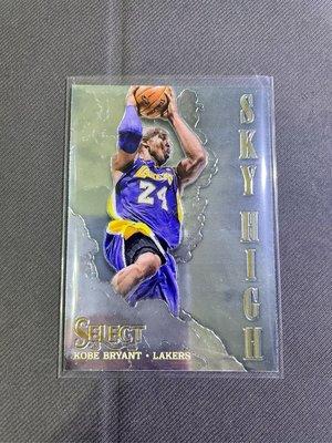 「曼巴精神」Kobe Bryant 球員卡 Panini Select Prizm 雲端 sky high 2014 告別系列