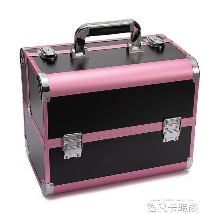 紋繡工具箱手提專業多層美睫美容師專用高檔大容量美甲紋眉化妝箱 《限時免運》