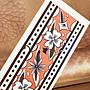 【萌古屋】花朵圖騰環形圖 - 防水紋身貼紙手臂腳踝環形刺青貼紙A63 K72