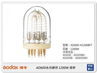 ☆閃新☆GODOX 神牛AD600-1200W燈頭專用1200W 燈管(公司貨)AD600-H1200BFT