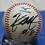 棒球天地--全台唯一--道奇 前田健太 簽名12強實戰球.字跡漂亮..日本空運來台
