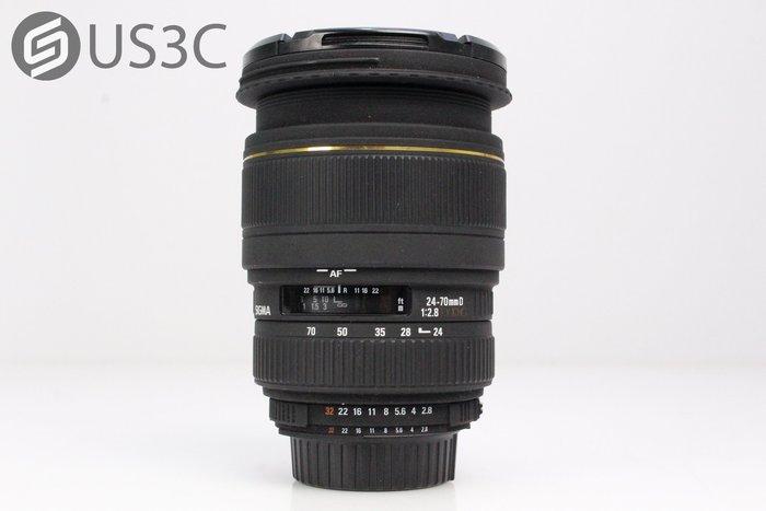 【US3C】SIGMA 24-70mm F2.8 EX DG MACRO For Nikon 變焦鏡頭 附原廠遮光罩