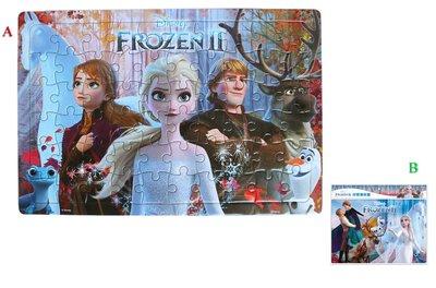 【卡漫迷】 冰雪奇緣 拼圖 60片 二款選一 ㊣版 兒童 Frozen 艾莎 安娜 雪寶 Elsa Anna 益智 遊戲