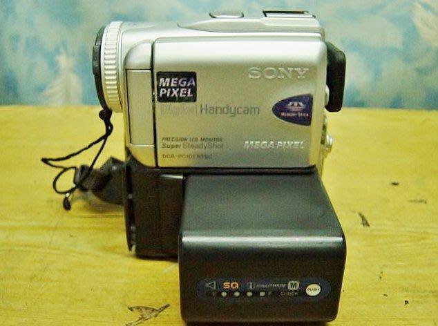 【小劉二手家電】SONY MINI DV攝影機,DCR-PC101型,電池可續電/充電-22