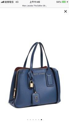 「特價13,500含郵」Marc Jacobs 藍色二用包 The Editor 29 手提袋