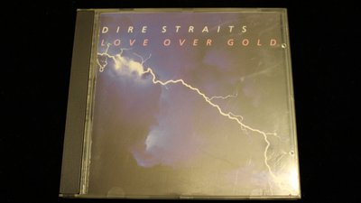 【198樂坊】TAS-Dire Straits-love over gold (....無IFPI西德版)EA