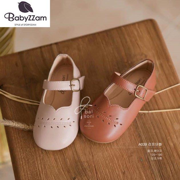 『※妳好,可愛※』妳好可愛韓國童鞋 BABYZZAM~正韓 英倫大頭休閒鞋 魔鬼氈休閒鞋 經典休閒鞋