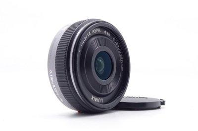 【台中青蘋果】Panasonic Lumix 14mm f2.5 二手 鏡頭 定焦鏡 #34115