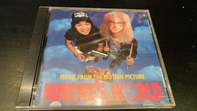 CD﹣﹣MUSIC FROM THE MOTION PICTURE WAYNE'S WORLD 電影原聲