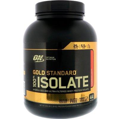 美國原裝進口ON  Gold Standard Isolate 分離乳清蛋白 3磅