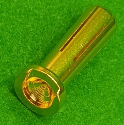 【車車共和國】AMASS  4mm ( 90°焊接點) 大電流輸出 鍍金香蕉插頭 接頭 / 金插 適用鋰電池 4mm插孔
